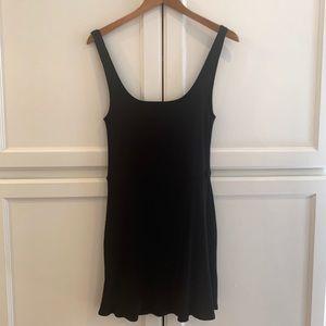Reformation black dress